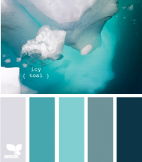 Design Seeds® | for all who ? color | icy teal