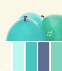 Design Seeds® | for all who ? color | teal air