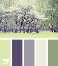 Design Seeds® | for all who ? color | spring greens