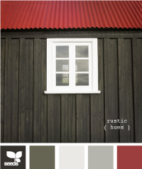Design Seeds® | for all who ? color | rustic hues