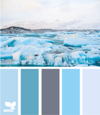 Design Seeds® | for all who ? color | icelandic blues