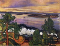Edvard Munch - Train Smoke.jpg (640×490)