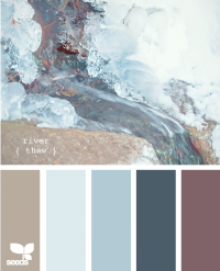 Design Seeds® | for all who ? color | river thaw