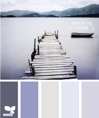 Design Seeds® | for all who ? color | morning calm