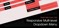 Pure CSS Based Multi Level Responsive Navigation Menu: BootM | EGrappler
