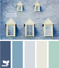 Design Seeds® | for all who ? color | rooftop palette