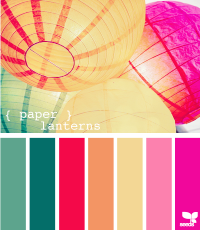 Design Seeds® | for all who ? color | paper lanterns