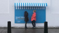 street furniture billboards by IBM ogilvy france