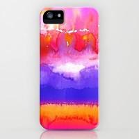 TIE DYE FIRE iPhone & iPod Case by M?nika Strigel | Society6