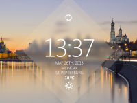 Time Widget by Dim Alex