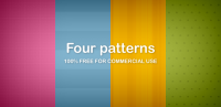 Download for free Four patterns (Free PNG) - Free and premium resources for web designers - DuckFiles