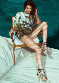 Siren Isabeli Fontana Fronts Morena Rosa Beach Fall 2013 Campaign - 3 Sensual Fashion Editorials | Art Exhibits - Anne of Carversville Women's News