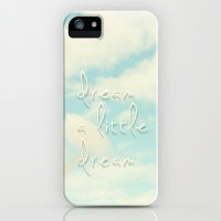 dream a little dream iPhone & iPod Case by Sylvia Cook Photography | Society6