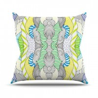 "Monika Strigel ""Wormland"" Throw Pillow 