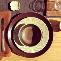 Heath Ceramics, Sunny place setting Heath + Akio (at Heath...