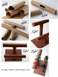 DIY Paper Roll Jewelry Display DIY Projects | UsefulDIY.com