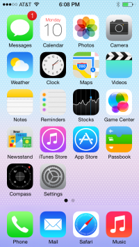Welcome to iOS 7, the first install gallery | 9to5Mac