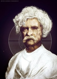 MARK TWAIN by ~TheUnknownBeing