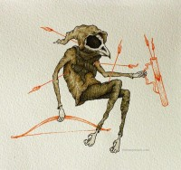 Pen and Watercolor Illustrations by Clint Reid   inspirationfeed.com