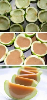 Caramel Apple Jello Shots Food Pix | Recipe by Picture