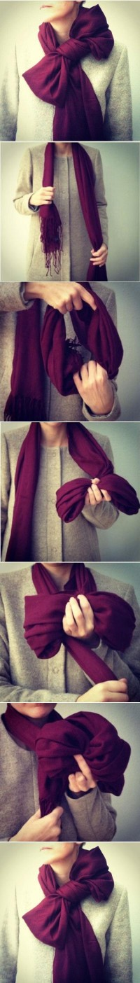DIY Scarf Bow DIY Projects | UsefulDIY.com