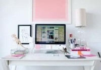 dream white desk space - Google Search