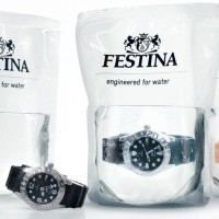Festina Watches - Divers Watch in Water Packaging - The Dieline -