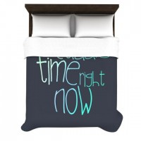 "Monika Strigel ""Cuddle Time Mint"" Duvet Cover 
