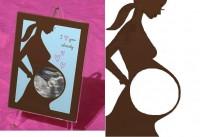 DIY Baby Sonogram Photo Frames DIY Projects | UsefulDIY.com
