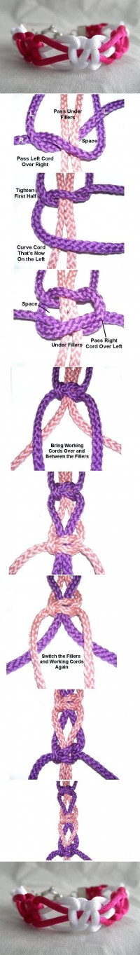 DIY Macrame Bracelet DIY Projects | UsefulDIY.com