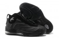 Mens Air Total Max Foamposite Black Anthracite Basketball Shoes