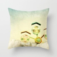 life is but a dream Throw Pillow by pascal | Society6