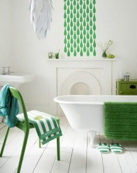 7 Ways to Add Color to the Bathroom | Apartment Therapy