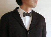 3D printed bow tie by monocircus