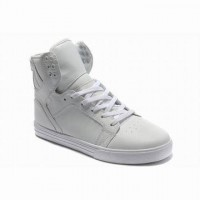 all white supra skytop high tops for sale online