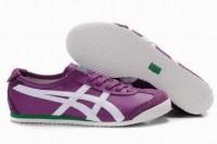 mens purple white green onitsuka mexico 66 sneakers