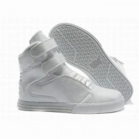 all white supra tk society high tops sneakers buy