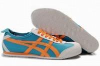 blue orange white asics mexico 66 runners online