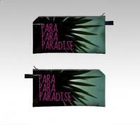 Exotic Paradise Cosmetics / Pencil Case by NikaMartinez on Etsy