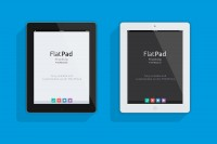 iPad Flat Mock-Up (PSD) - Designer First