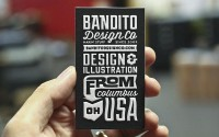 Bandito Blog — New Bandito cards smushed to perfection by the...