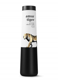 Amur Tiger Vodka - The Dieline -