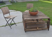 Pallet Patio Furniture – Easy Making Of Pallet Furniture | 101 Pallets