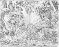 Justice League #2 Page 2-3//Jim Lee/L/ Comic Art Community GALLERY OF COMIC ART