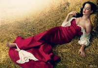 Katy Perry In Red Drama By Annie Leibovitz For Vogue US July 2013 As 'Beauty And The Beat' - 8 Style | Sensuality Living - Anne of Carversville Women's News
