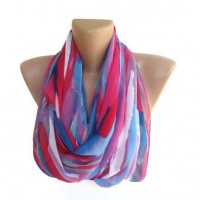 fashion neon women scarf chiffon trendy scarves girly by seno
