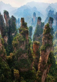 Avatar, Rock Spires, Zhangjiajie, China | See More Pictures | #SeeMorePictures