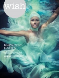 Wish Report Brazil February 2010 Cover | Emanuela de Paula by Jacques Dequeker | Fashion Gone Rogue: The Latest in Editorials and Campaigns