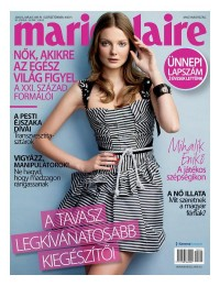 Marie Claire Hungary May 2010 Cover | Eniko Mihalik | Fashion Gone Rogue: The Latest in Editorials and Campaigns