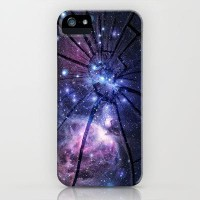 Broken Galaxy iPhone & iPod Case by M?nika Strigel | Society6